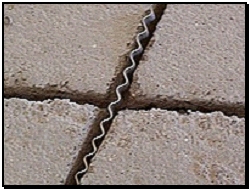 Corrugated Screed Connectors - Clean cracks and slots